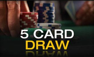 5-карточный дро-покер: правила игры