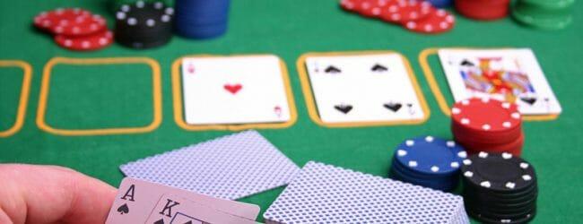 общие карты (флоп) в покере