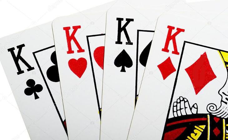 Комбинация каре в покере