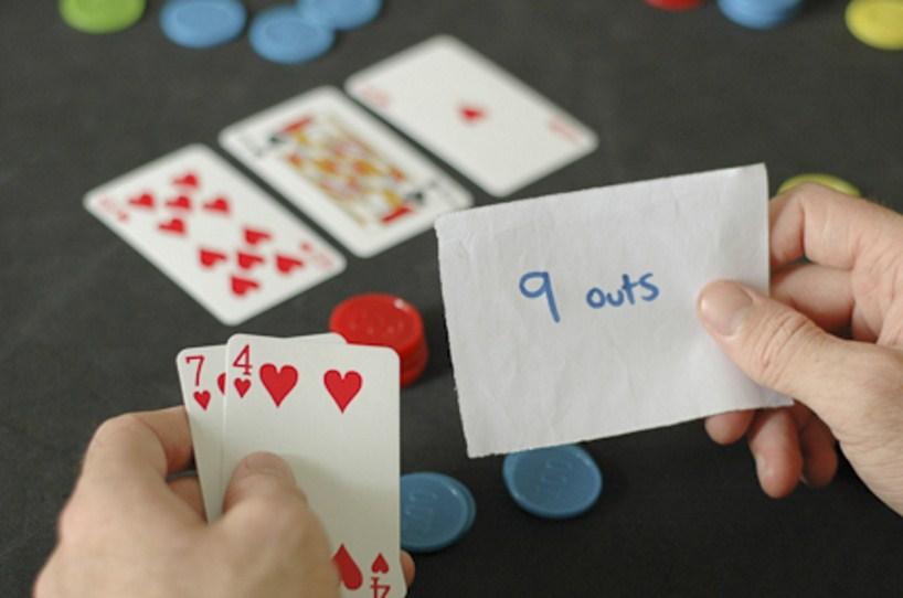 Как считать ауты в покере, таблица аутов