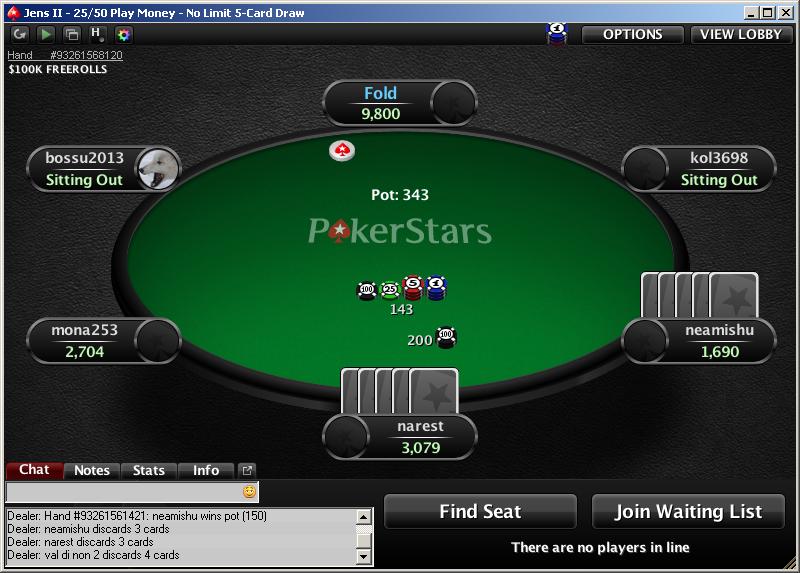 дро покер, как играть