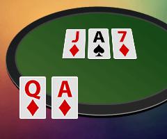 Флеш дро в покере: шансы на добор, как разыгрывать