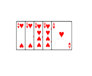 Комбинация флеш в покере