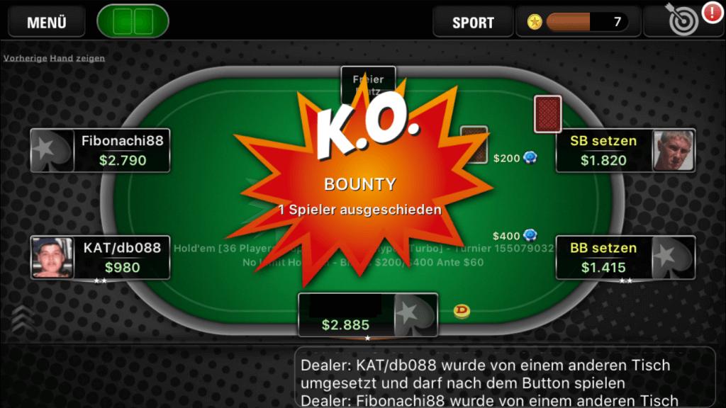 баунти в покере