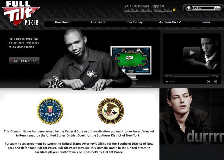 закрытие сайта Покер Старс