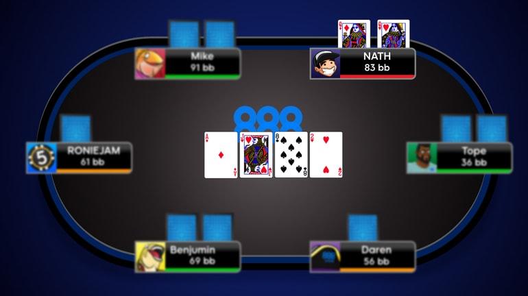 Как разыгрывать карманных дам в покере