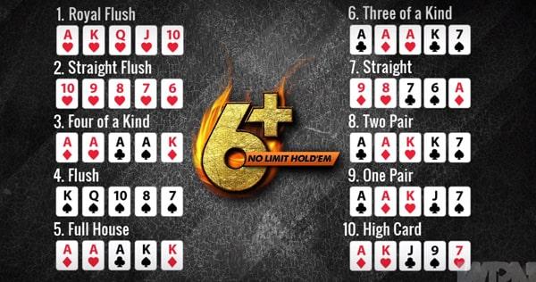 Главные отличия Холдема 6+ от покера с полной колодой